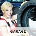 Plaquette garage
