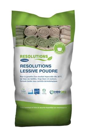 RESOLUTIONS LESSIVE POUDRE EXTRA CONC 15 KG