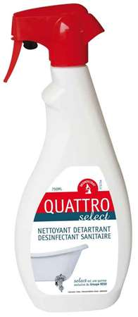 QUATTRO SELECT DETARTRANT DESINFECTANT SANITAIRE PAE 750 ML