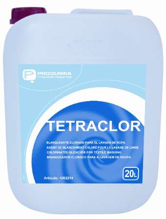TETRACLOR AGENT DE BLANCHIMENT CHLORE STABILISE 20L