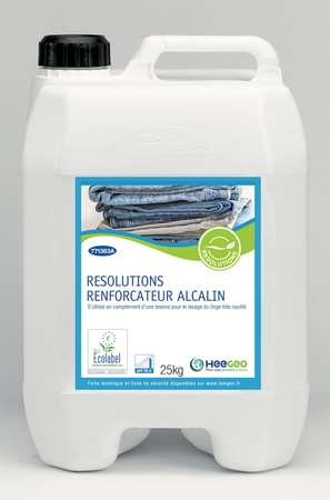 RESOLUTIONS RENF DE LAVAGE ALCALIN 25 KG